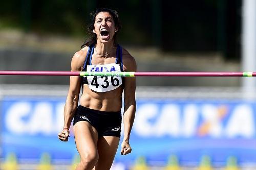 Ela completará o número de atletas do heptatlo no Engenhão / Foto: Wagner Carmo/CBAt