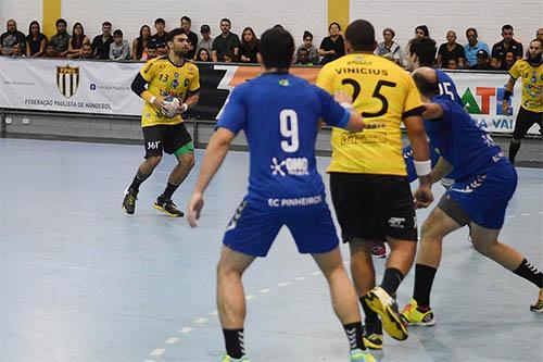 67f208ca9959d Handebol Taubaté é superado pelo Pinheiros na Taça Estado de São Paulo    Foto  Divulgação
