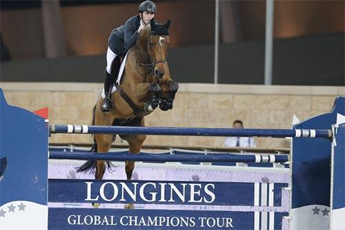 O britânico Scott Brash é o grande campeão do Global Champions Tour 2013 / Foto:  Stefano Grasso/Longines Global Champions Tour