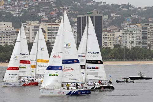 Pro-Am durante o Match Race Brasil / AGIF