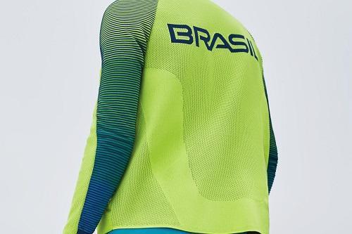 53c7f5913 Nos novos uniformes de pódio da Nike para oTime Brasil e para o Time EUA  destacam