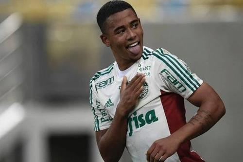 Gabriel Jesus, convocado do Palmeiras / Foto: Gazeta Press