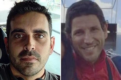 450dc7c00 Paraquedistas Gustavo e Marcos