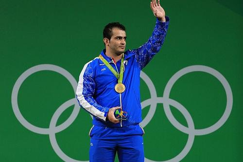 Sohrab Moradi levou o ouro na categoria até 94kg / Foto: Mike Ehrmann/Getty Images