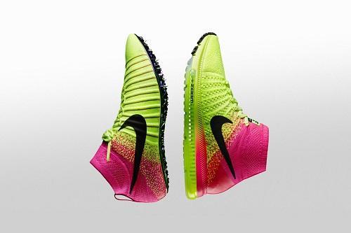 97da6c6a3 Novo UnlimitedColorway da Nike conta com uma mistura exclusiva do pink  chocante e Volt já conhecido