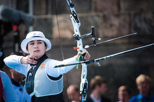 A sul-coreana Ki Bo Bae participará do evento-teste/ Foto: Dean Alberga/World Archery Federation via Getty Images