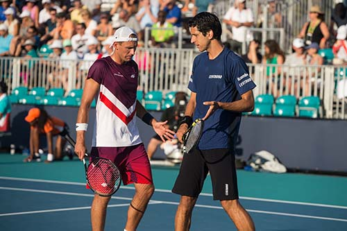 Dupla manteve a calma e a concentração no match tie-break  / Foto: Mike Lawrence / ATPTour